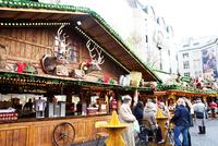 ミュンスター広場のクリスマスマーケット