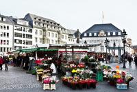 ボン市マルクト広場のクリスマスマーケット