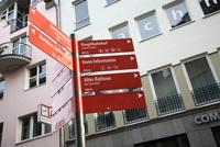 ベートーヴェンハウス近くの道路標識