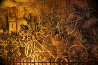 ファルケンブルグの洞窟クリスマスマーケットの壁画
