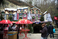 ファルケンブルグの洞窟クリスマスマーケット入口