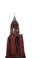 マーストリヒトの聖ヤン教会の赤い鐘楼