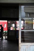 近江鉄道日野駅舎 10330000622| 写真素材・ストックフォト・画像・イラスト素材|アマナイメージズ
