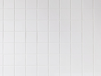 100mm角の白いタイル