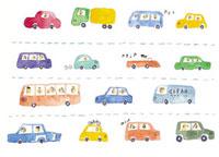 色々な車のイメージ 10340000007| 写真素材・ストックフォト・画像・イラスト素材|アマナイメージズ