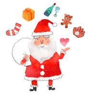 サンタのプレゼント 10340000008| 写真素材・ストックフォト・画像・イラスト素材|アマナイメージズ