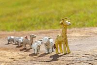 クラフトの動物たち 10341000550| 写真素材・ストックフォト・画像・イラスト素材|アマナイメージズ