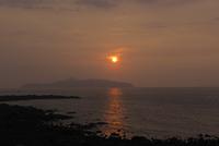 波戸岬の夕日