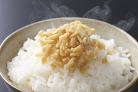 ご飯に酢生姜