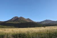 タデハラ湿原より三俣山を望む