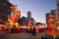 長崎ランタンフェスティバル 10341010826| 写真素材・ストックフォト・画像・イラスト素材|アマナイメージズ