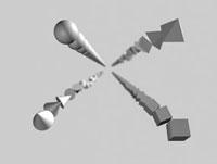 連続する形状のイメージ