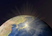地球上で輝く日本