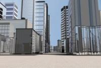 オフィス街の背景