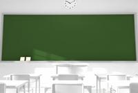 白い教室の黒板 10361000212| 写真素材・ストックフォト・画像・イラスト素材|アマナイメージズ
