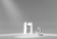 白い部屋の白ヘビ 10361000247| 写真素材・ストックフォト・画像・イラスト素材|アマナイメージズ