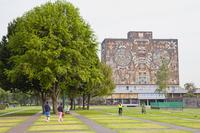 立体壁画 メキシコ国立自治大学
