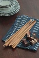 お皿とお箸と箸置き