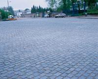 石畳の広場