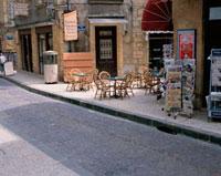 石畳の町並み