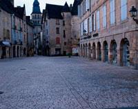 石畳の街角