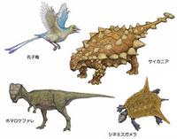 白亜紀 アジアの恐竜