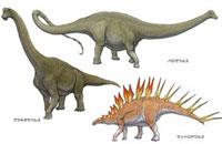 ジュラ紀 アフリカの恐竜