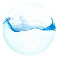 球体の水 10404002115| 写真素材・ストックフォト・画像・イラスト素材|アマナイメージズ