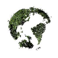 葉っぱの地球儀 10404011142| 写真素材・ストックフォト・画像・イラスト素材|アマナイメージズ