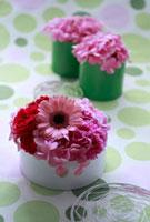 ピンク色のフラワーアレンジ 10405000066| 写真素材・ストックフォト・画像・イラスト素材|アマナイメージズ