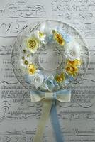 お花のアイアンリース 10405000799| 写真素材・ストックフォト・画像・イラスト素材|アマナイメージズ