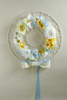 お花のアイアンリース 10405000801| 写真素材・ストックフォト・画像・イラスト素材|アマナイメージズ