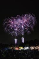 土浦全国花火競技大会 スターマイン 新たな門出に花束を 10408002035| 写真素材・ストックフォト・画像・イラスト素材|アマナイメージズ