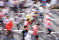 マラソン 10410000198| 写真素材・ストックフォト・画像・イラスト素材|アマナイメージズ