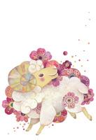 花ヒツジ 10418000037| 写真素材・ストックフォト・画像・イラスト素材|アマナイメージズ