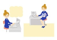 OL・コンピューター作業