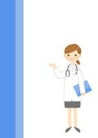 小児科・産婦人科の女医さん 10420000041| 写真素材・ストックフォト・画像・イラスト素材|アマナイメージズ