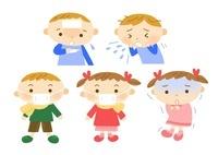 小児科 子供の風邪 10420000055| 写真素材・ストックフォト・画像・イラスト素材|アマナイメージズ