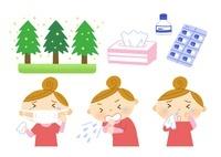花粉症の原因と薬と症状
