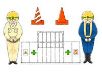 工事現場 10420000124| 写真素材・ストックフォト・画像・イラスト素材|アマナイメージズ