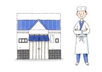 和食屋さん 10420000127| 写真素材・ストックフォト・画像・イラスト素材|アマナイメージズ