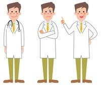医者3パターン 10423000337| 写真素材・ストックフォト・画像・イラスト素材|アマナイメージズ