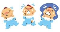 赤ちゃんの湿疹、怪我、夜泣き 10423000361| 写真素材・ストックフォト・画像・イラスト素材|アマナイメージズ