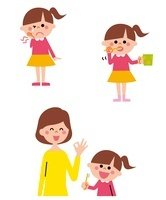 歯みがきシーン 女の子 10423000380| 写真素材・ストックフォト・画像・イラスト素材|アマナイメージズ