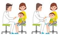 診察を受ける男の子 10423000385| 写真素材・ストックフォト・画像・イラスト素材|アマナイメージズ
