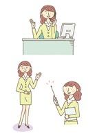 女性のビジネスシーン