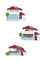 住宅保険(破損の度合い/一部損、半壊、全壊)
