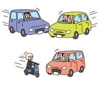 事故(車と 車、バイクと車)