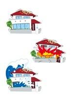 地震保険(地震、地震による火災、地震による津波)