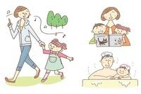 ママと子供のイメージ